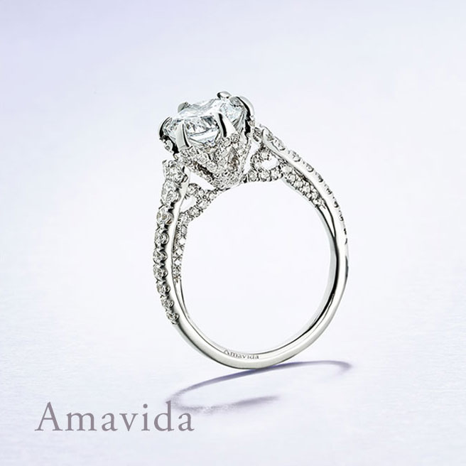Gabriel & Co Engagement Rings Amavida