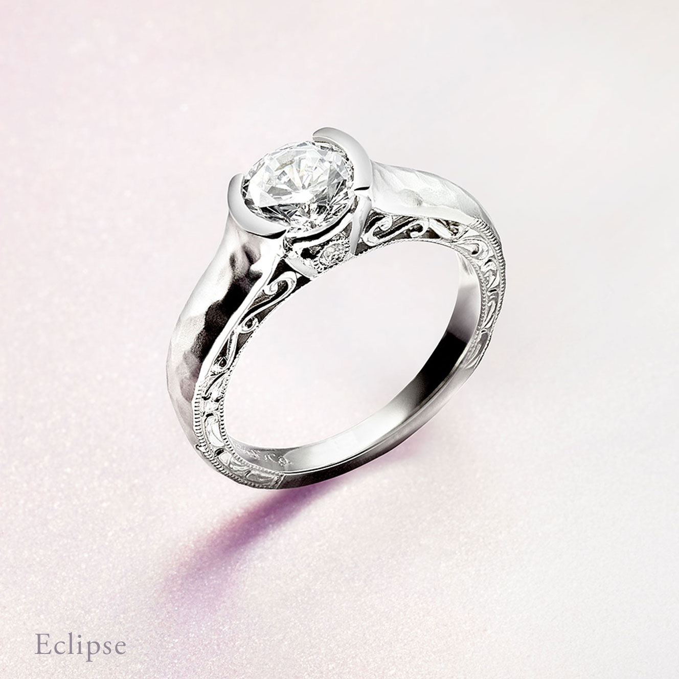 Gabriel & Co Engagement Rings Eclipse