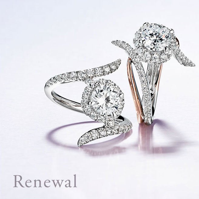 Gabriel & Co Engagement Rings Renewal